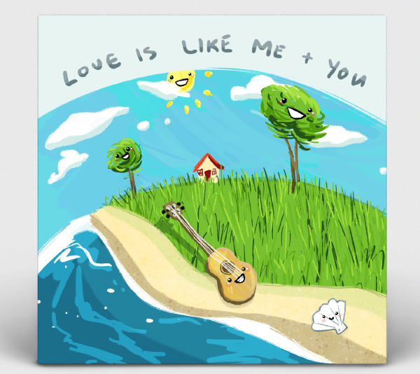 Album Art: Matt Pacheco - Love Is Like Me And You