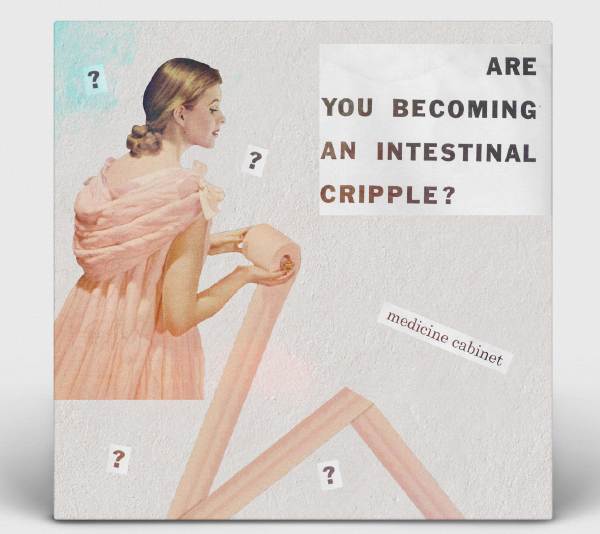Album Art: Medicine Cabinet - Are You Becoming An Intestinal Cripple?