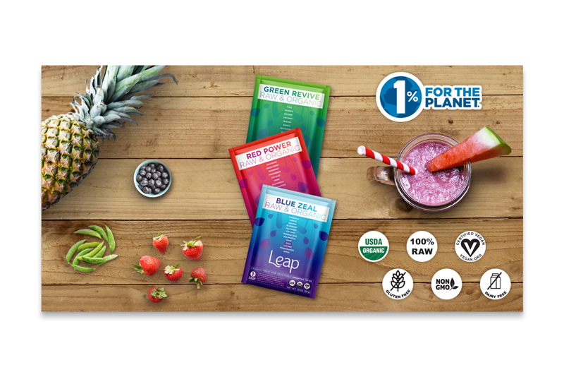 Email Marketing Image for Leap Smoothies