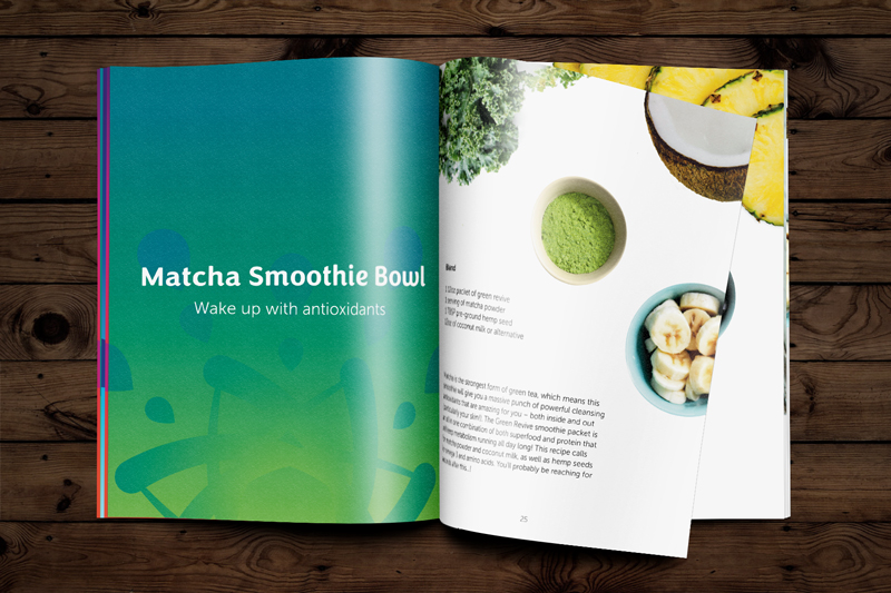 Recipe Book for Leap Smoothies