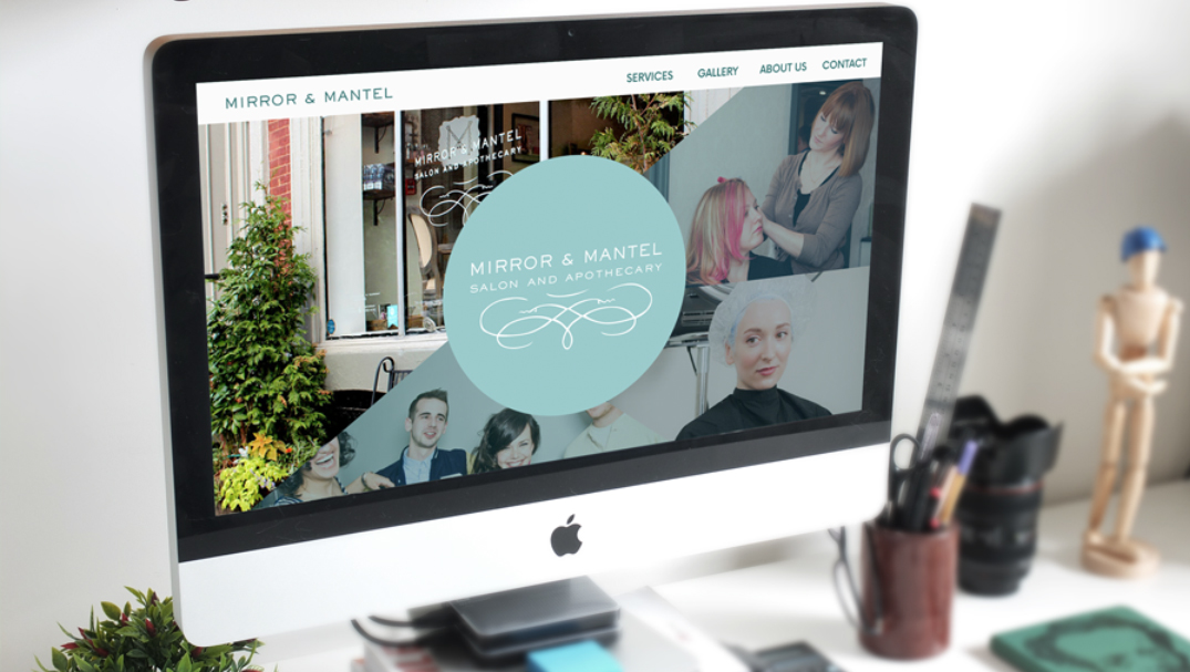 Website Redesign for Mirror & Mantel Hair Salon