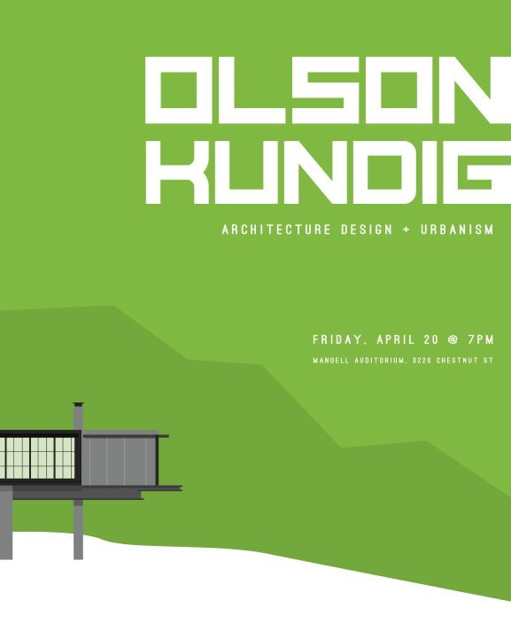 Poster Design for Architecture Firm Olson Kundig